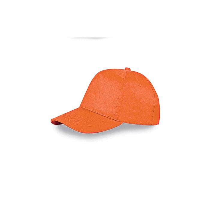 scegli l'autorizzazione migliore vendita più economica Cappellino Baseball 5 pannelli cotone PRONTA CONSEGNA